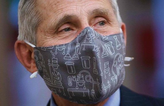 "AFP/""Scanpix"" nuotr./Anthony Fauci"