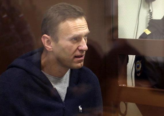 """""""Scanpix""""/ITAR-TASS nuotr./Aleksejus Navalnas grįžo į teismą"""