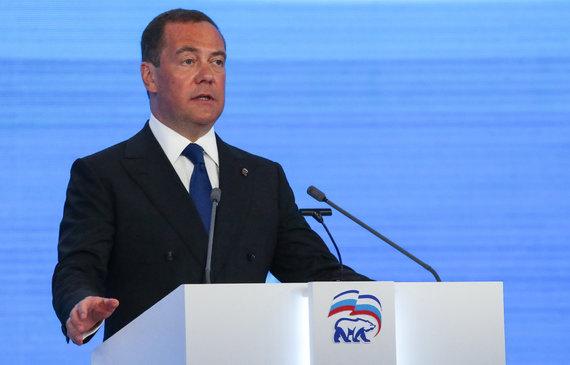 """""""Scanpix""""/ITAR-TASS nuotr./Dmitrijus Medvedevas"""