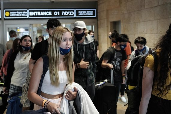 ZUMAPRESS / Scanpix nuotr./Visi į Izraelį atvykstantys asmenys vėl turi karantinuotis