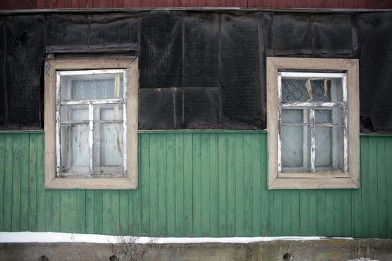 Reuters / Foto de Scanpix / Una casa abandonada en Letonia