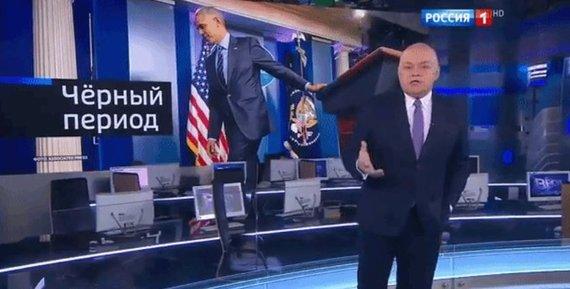 """""""Twitter"""" nuotr./D.Kiseliovo laida """"Savaitės naujienos"""""""