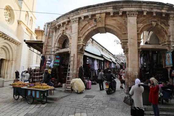 """""""Reuters""""/""""Scanpix"""" nuotr./Jeruzalė"""