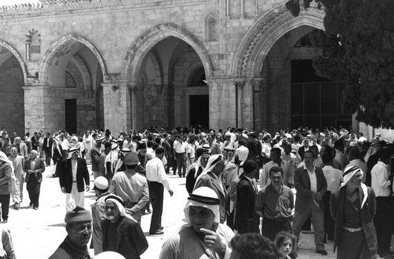 """""""Reuters""""/""""Scanpix"""" nuotr./Jeruzalė 1967 metais"""
