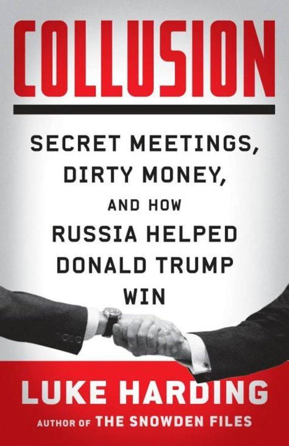 "Amazon.com nuotr./L.Hardingo knygos ""Collusion"" viršelis"