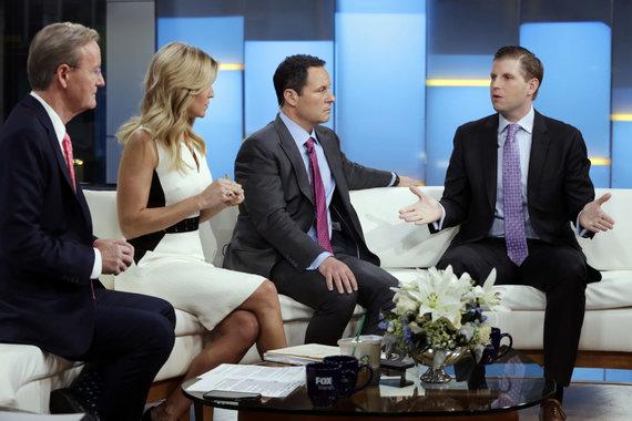 """Scanpix""/AP nuotr./D.Trumpo mėgiama TV laida ""Fox & friends"""