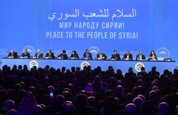 """""""Scanpix"""" nuotr./Sočyje baigėsi Sirijos taikos derybos"""
