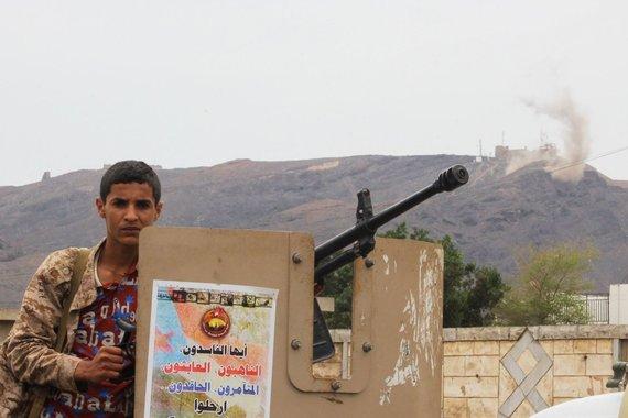 "AFP/""Scanpix"" nuotr./Jemeno laikinąją sostinę drebino intensyvūs mūšiai"