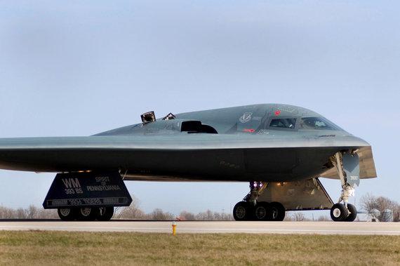"""""""Reuters""""/""""Scanpix"""" nuotr./B-2 tikriausiai tebebus naudojamas iki šio amžiaus 4-ojo dešimtmečio pradžios"""