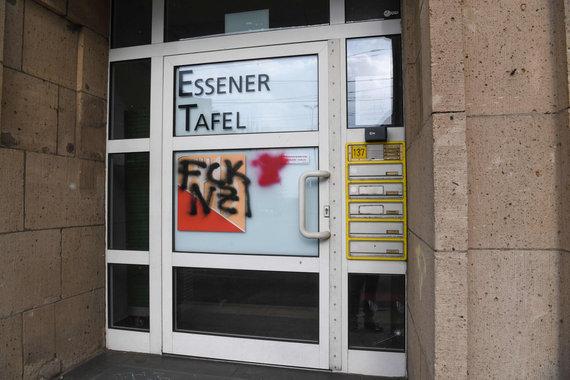 """AFP/""""Scanpix"""" nuotr./Vandalai organizaciją """"Essener Tafel"""" vadina """"naciais"""""""