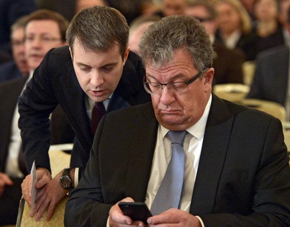 """""""Scanpix"""" nuotr./Sergejus Prichodka (dešinėje)"""