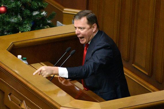 """""""Scanpix"""" nuotr./Radikalų partijos lyderis Olehas Liaško"""