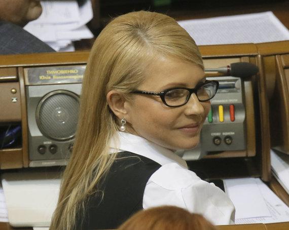 """""""Scanpix""""/AP nuotr./Julija Tymošenko vėl žvalgosi į valdžią"""