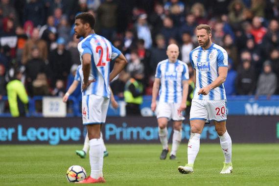 "AFP/""Scanpix"" nuotr./""Huddersfield Town"" laukia neramus sezono finišas"