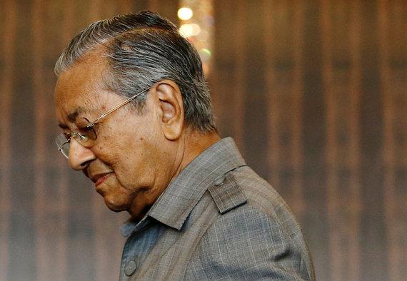 """Reuters""/""Scanpix"" nuotr./Mahathiras Mohamadas"