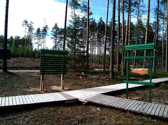 Miško parkas šalia Paaisetės kaimo