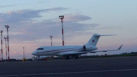 O.Bulakovo lėktuvas Vilniaus oro uoste