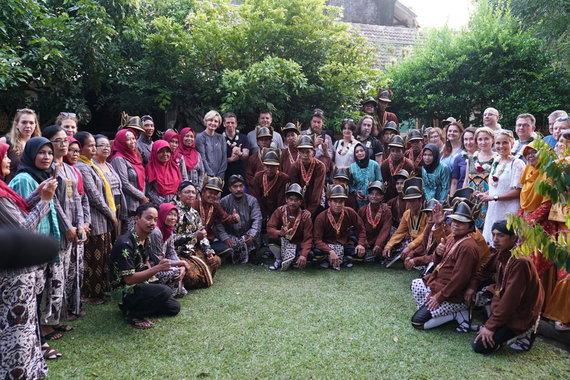 Susitikimas Javos salos kaime