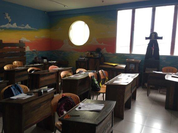 Indonezijos mokyklos klasė