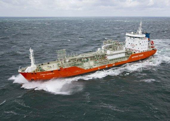 Laivas, atgabenęs rusiškas SGD