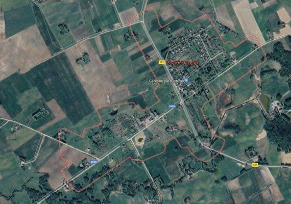 google earth nuotr./Šventragio kaimas