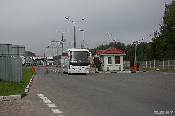 tut.by nuotr./Eurolines autobusas kerta sieną