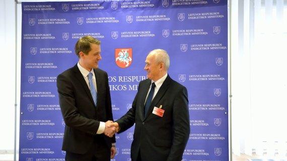 Lietuvos ir Lenkijos energetikos ministrų susitikimas