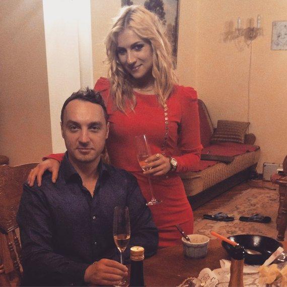 Asmeninio archyvo nuotr./Gabrielė Gaižutytė su vyru