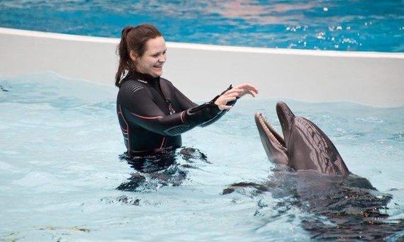 Fondo nuotr./Delfinų terapija
