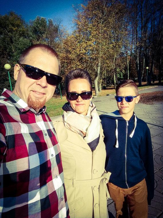 Asmeninio albumo nuotr./Kristinos ir Tomo Mareckų šeima