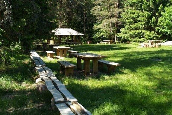 Aukštaitijos nacionalinio parko nuotr./Ineigos stovyklavietė