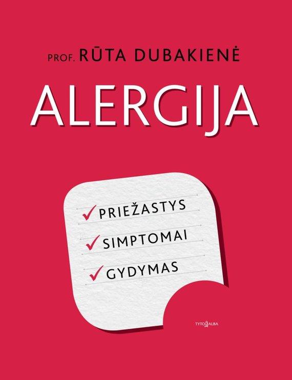 "Tyto alba nuotr./Knyga ""Alergija"""