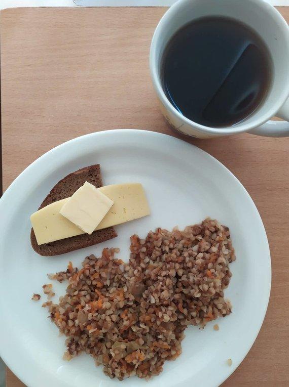 Asmeninio albumo nuotr./Vilniaus gimdymo namų maistas