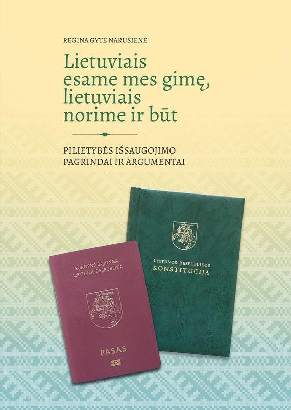 Mažoji leidykla nuotr./R.G.Narušienės knyga