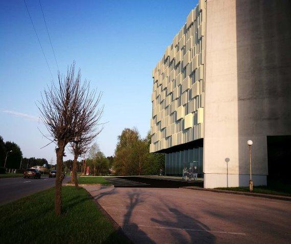 """""""Šiltas namas"""" vizualizacija /Lietuvos centrinis valstybės archyvas planuoja statyti naują pastatą"""