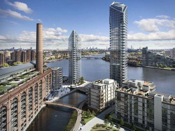 """Chelsea Waterfront"" projektas"