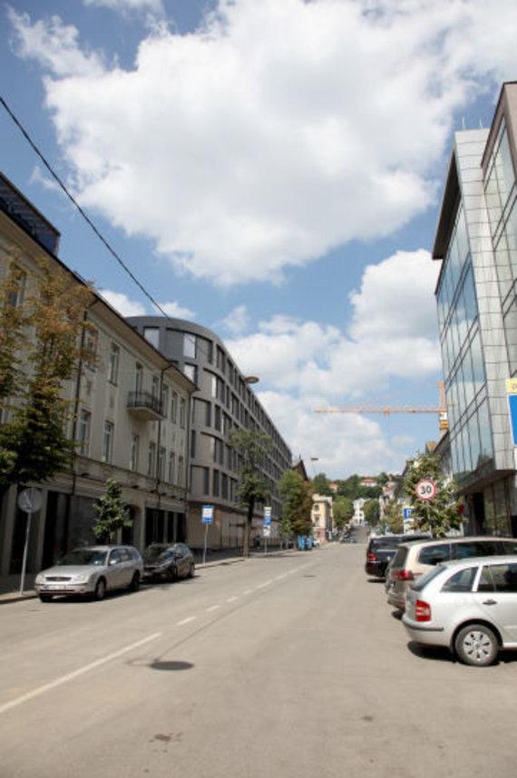 """""""Architektų biuras G. Natkevičius ir partneriai""""/Kauno Maironio gatvėje planuojamas viešbutis"""