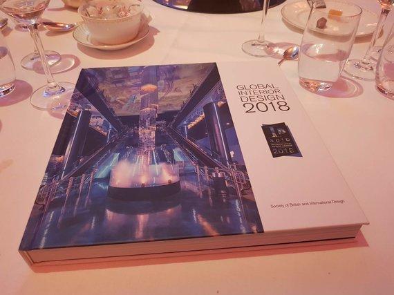 """Akvilės Bielytės nuotr./""""SBID International Design Awards"""" apdovanojimų ceremonija"""