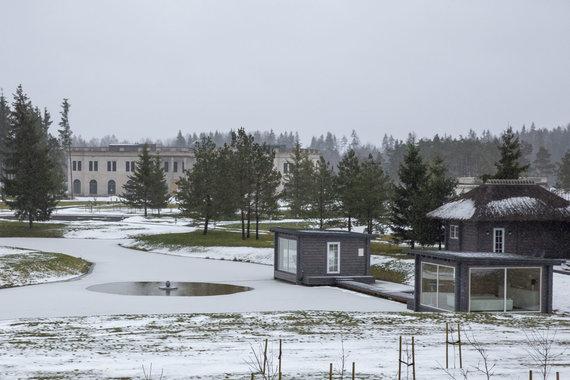Luko Balandžio / 15min nuotr./Statomi namai Vilniaus rajone, Melkio kaime