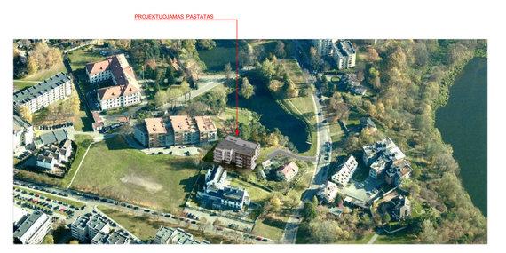 """""""Eventus pro""""/""""M.M.M. Projektai"""" Žvėryne, Latvių gatvėje planuoja statyti daugiabutį"""