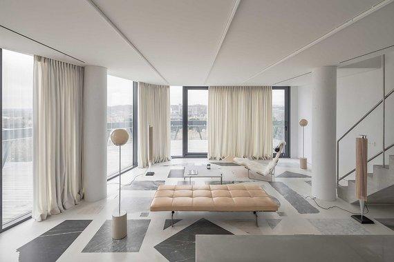 """Norbert Tukaj nuotr./""""Geriausio privataus interjero"""" nominacija atiteko architektūros studijai """"DO ARCHITECTS"""" už sukurtą interjerą """"The Apartment""""."""