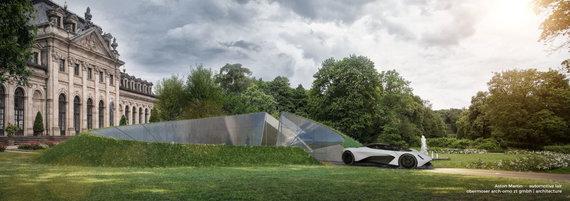 """""""Aston Martin"""" nuotr./""""Aston Martin"""" siūlys naują namų dizaino paslaugą"""