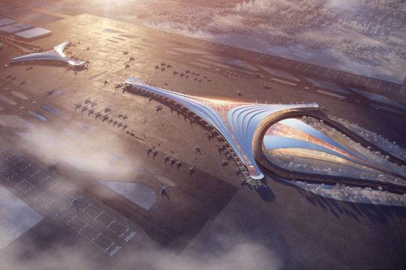 KPF/Architektų pasiūlymai Lenkijos oro uostui