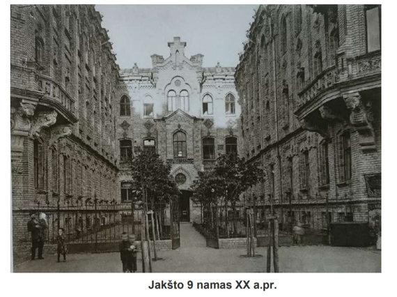 Pastate A.Jakšto g. 9 planuojamas viešbutis