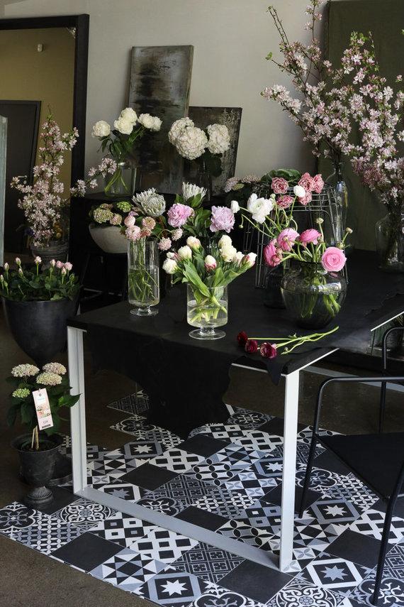 Skaistės Malevskienės nuotr./Jurgitos Malakauskaitės gėlės