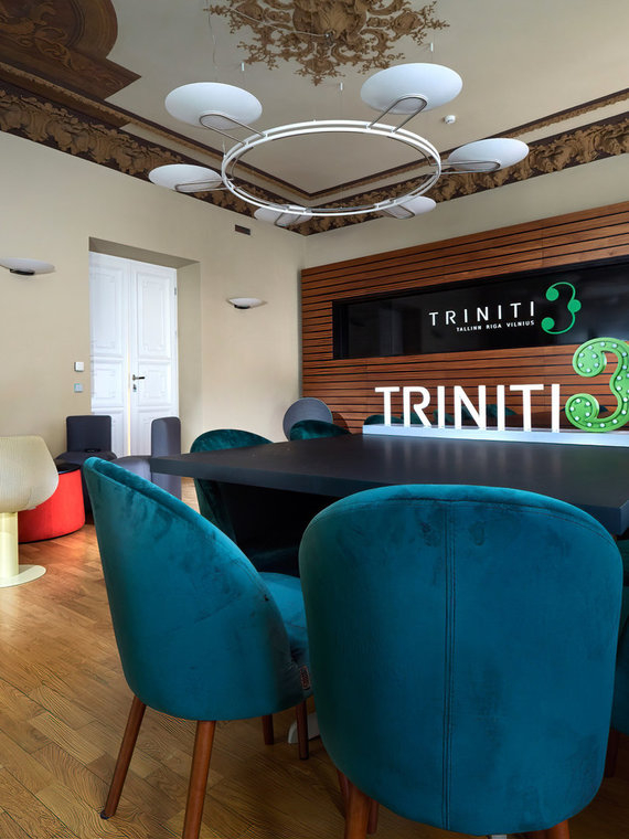 """""""Triniti"""" nuotr./Advokatų kontoros """"Triniti"""" biuro interjeras"""