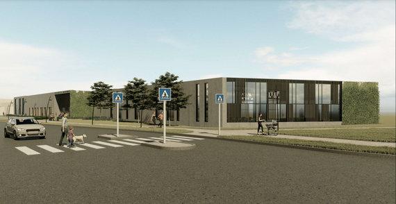 """""""Projektų rengimo centras"""" ir """"Tiksli forma""""/Pilaitėje planuojamas naujas baseinas"""