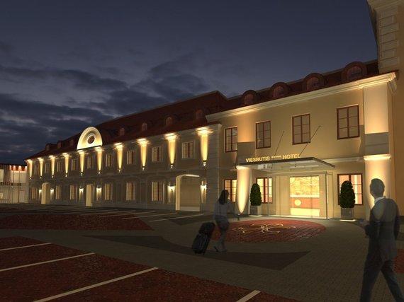 """Vilniuje, Pacų rūmuose įsikurs tarptautinio tinklo """"Design Hotels"""" viešbutis"""