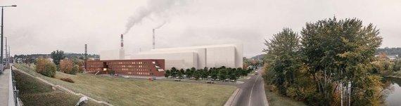 """Organizatorių vizualizacija/Architektai pateikė siūlymus, kaip galėtų atrodyti """"Lidl"""" biurų parkas Giraitės gatvėje"""