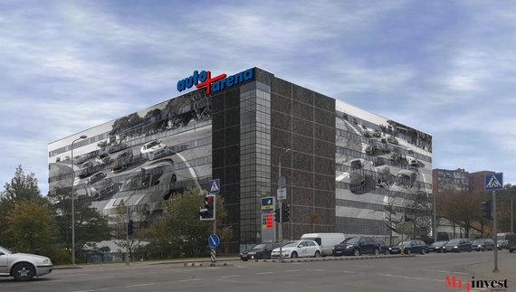 Bendrovės vizualizacija/Atsinaujinusiame taksi parke bus įkurtas automobilių centras